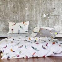 100% egipto Algodón ropa de Cama de Lujo de ropa de cama King Queen tamaño doble juego de cama de hoja de cubierta del edredón funda de almohada 4 unid