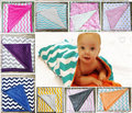 26 color Dot Chevron Newborn Baby Minky Blankets Super Soft Cotton knitting Infant Swaddle Towel Shower Gift For Baby Girl Boys