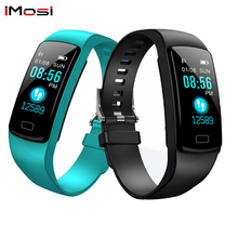 Imosi Y9 Fitness Tracker With Pressure Measurement Hey plus smart Bracelet pedometer sport watch blood pressure