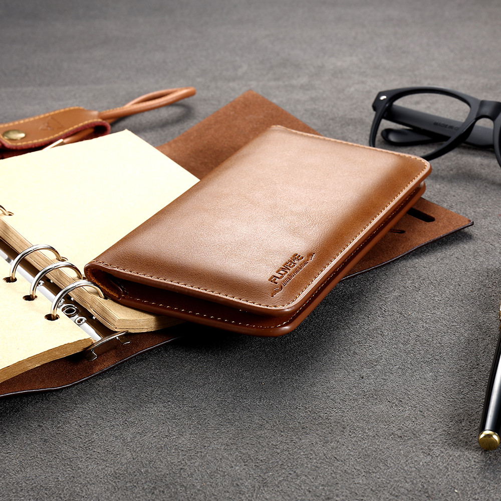 FLOVEME բնօրինակ կաշվե դրամապանակի - Բջջային հեռախոսի պարագաներ և պահեստամասեր - Լուսանկար 3
