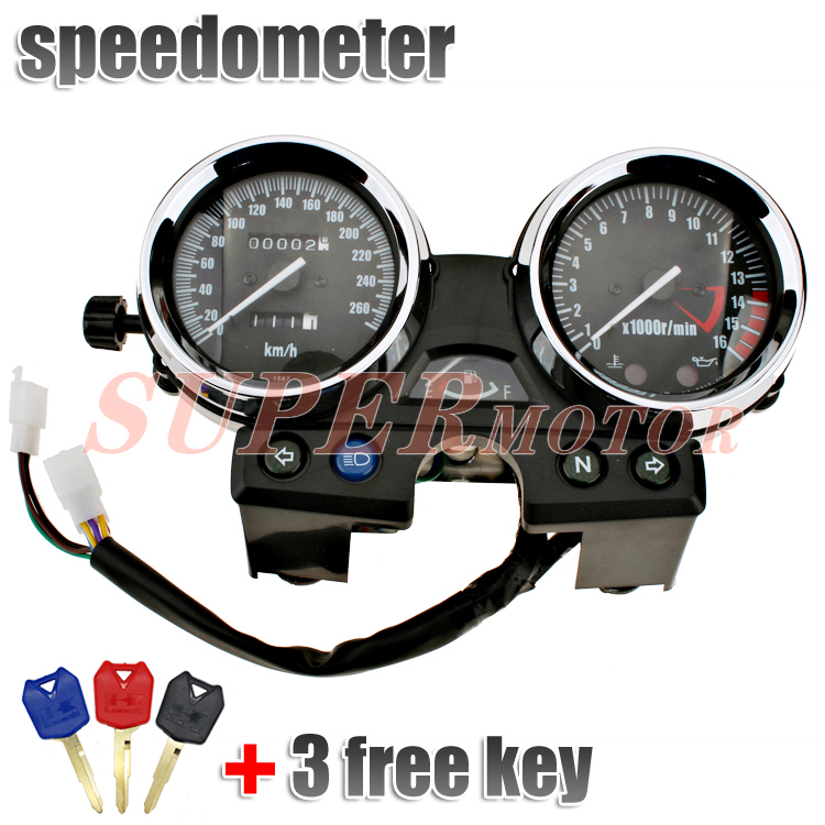 Gauge Speedometer Tachometer Fits For Kawasaki ZRX1100 1994-2000 95 96 97 98 99 ZRX400 ZRX 1100 400 750 scooter parts gauges cluster speedometer tacho odometer fits for kawasaki zrx400 zrx750 zrx1100 kmh free shipping