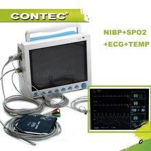 CMS8000 6-параметров темп, пульс, дыхания, ЭКГ, SPO2, НИАД Цифровые медицинской ICU пациентов жизненно важных функций монитора