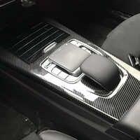 Für Mercedes Benz EINE CLA Klasse W177 C118 A180 A200 A220 Console Schützende Trim Abdeckung Kunststoff Aufkleber Zubehör Auto Styling