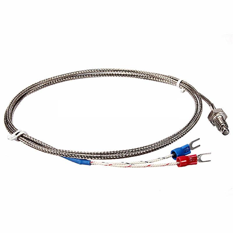 Régulateur de température numérique 220V PID REX-C100 + Thermocouple max.40A SSR + K, ensemble de contrôleur PID + dissipateur de chaleur