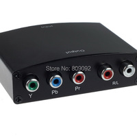 HDMI To Video YPbPr R/L Component HD Audio HDTV Converter Adapter For PS3 TV STB