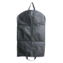 1pc Black Dustproof Hanger Coat Clothes Garment Suit Cover Storage Bags,clothes storage,almacenamiento,Case for clothes