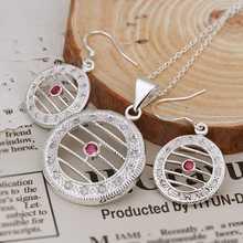 Wholesale Sterling font b 925 b font font b Silver b font Jewelry Set font b