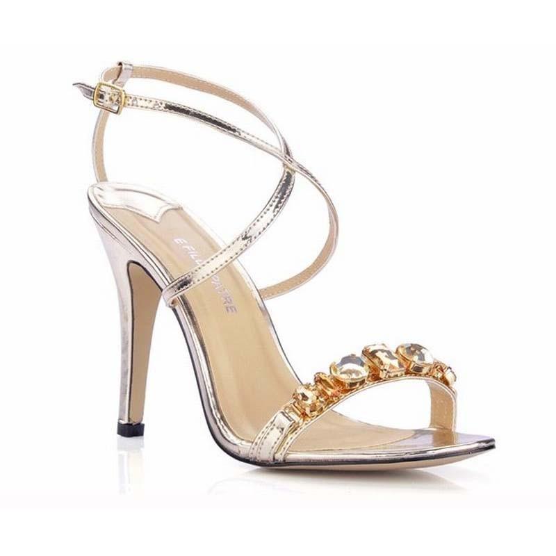 f5aa48c44a US 47.42 dolarów 2017 moda marka kobiety wysokie obcasy gladiator crys...US  43.66 dolarów kobiety gladiator sandały krzyż ...