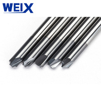 כרסום cnc קאטר WEIX 1PC Solid Carbide Arc R זווית End Mill 4 חלילים CNC כרסום קאטר Anti-R Chamfering נתב ביט עבור סגסוגת פלדה (4)