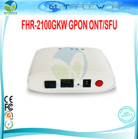 FHR 2100GKW GPON ONT/SFU 1 GPON Interface SC SM/single Fiber Downstream rate 2.5Gbps Upstream rate 1.25Gbps