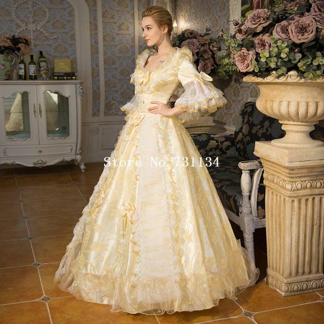 Online Shop Best Seller Champagne Rococo Baroque Marie Antoinette ...