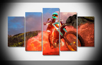 9082 moto racer 4 2016 game image Poster Framed Gallery wrap art print home wall decor wall picture