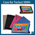 Original new Leather Case cover for Teclast X80H 8inch Windows Tablet PC + Screen Protector