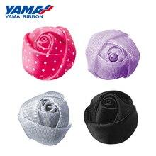 Яма Бутон Роза Лента Диаметр 20 мм ฑ 5 мм 200 шт. / Пакет различных металических атласной органзы