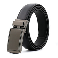 LannyQveen Hot Sale Fashion New Model Men S Automatic Buckle Belts For Man Cow Leather TV
