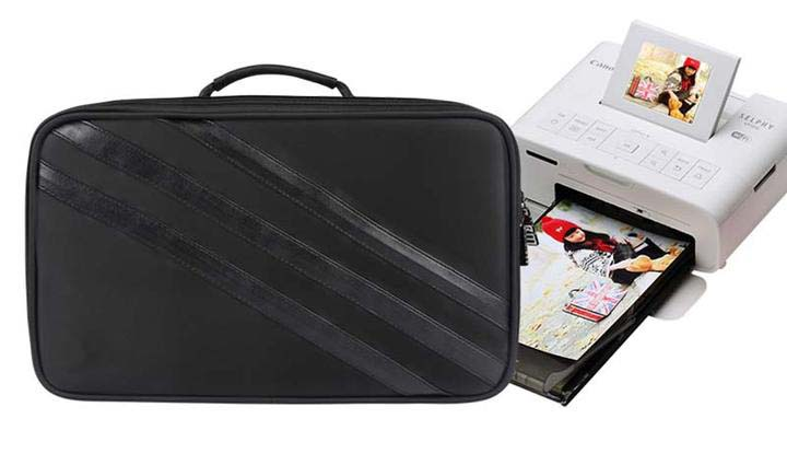Portable Travel Carrying Case Digital Storage Bag Handbag for Canon Printer CP910/CP1200 hiinst black portable and durable waterproof portable carrying storage aluminum alloy case box for spark drop aug15