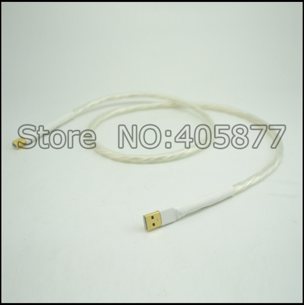audio audio Supreme Reference USB audio cable interconnect USB cable with A to B plated gold connection USB audio digital cable [sa]use for u s ni gpib usb a connection cable see figure below only the cable used