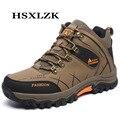 Botas de homens Sapatos de Outono Primavera Conforto Caminhada Não-Escorregar Homens Escalada Ao Ar Livre Respirável Montanha Julgamento Trekking Shoes Men Calçado
