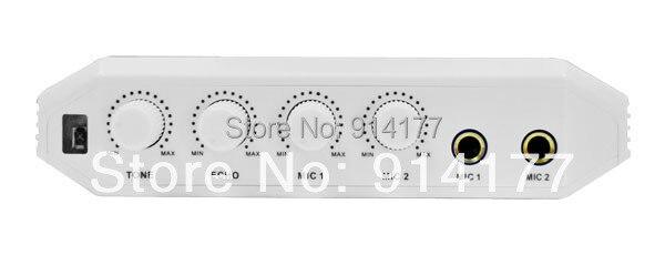 US $202 99 |Brand new Karaoke Recorder Converter audio amplifier Online  Singing Recorder best partner for PC Free 4pcs Wireless microphone-in  Karaoke
