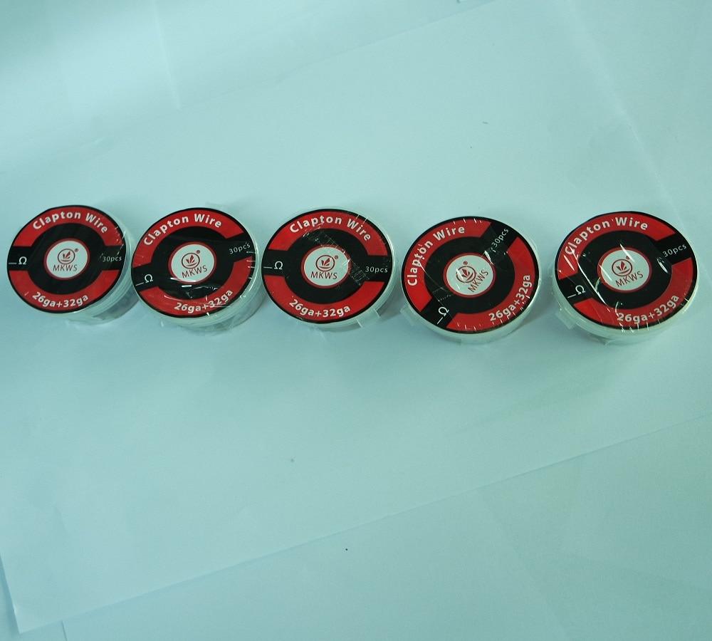 Clapton Coil wire heating wire for RDA RBA DIY 32ga+24ga 32ga+26ga ...