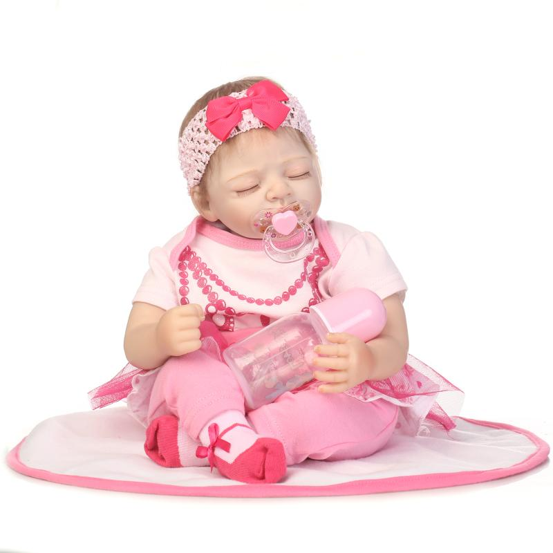 NPK 50CM silicone reborn doll cotton body Bonecas Baby Reborn realistic magnetic pacifier bebe doll reborn for girl GiftNPK 50CM silicone reborn doll cotton body Bonecas Baby Reborn realistic magnetic pacifier bebe doll reborn for girl Gift