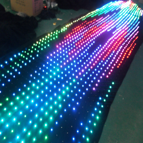 video led stage cloth
