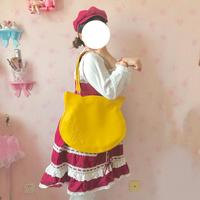9 Colors Japanese Harajuku Lolita Cute Cat Head JK Uniform Shoulder Bags Totes Bag Women's Students Kawaii PU Handbag Korean