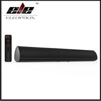 Barra de sonido de TV de 80W con Bluetooth, sistema de cine en casa, barra de sonido envolvente 3D, Subwoofer, mando a distancia, montado en la pared