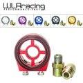 WLR STORE-M20X1.5 3/4-16 NPT 1/8 Alumínio Corrida De Medidor De Pressão De Óleo Filtro de Óleo Sanduíche Adaptador WLR6722