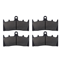 2 Pairs Motorcycle Brake Pads For KAWASAKI ZX 6R 7R 9R 12R ZZR 600 GPz 900R