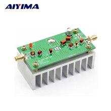 AIYIMA 88 108MHZ 6 واط VHF مكبر كهربائي إنهاء المجلس ل FM الارسال جهاز العناية بالوجه يعمل بموجات الراديو لحم الخنزير مع المبرد