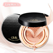 Loumesi Air Cushion bb cc cream face foundation  make up powder 18ml*2  Perfect Cover Concealer Beauty Cosmetic Foundation Moist