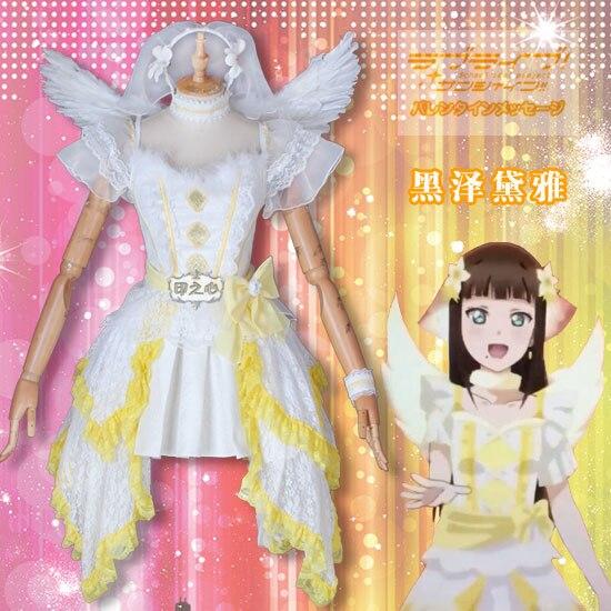 Love live Sunshine Theater version Next Sparkling cos Yoshiko Cosplay costumes