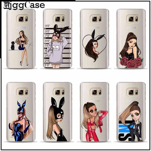 Sexy Singer Ariana Grande Design Phone Case Cover For Samsung Galaxy