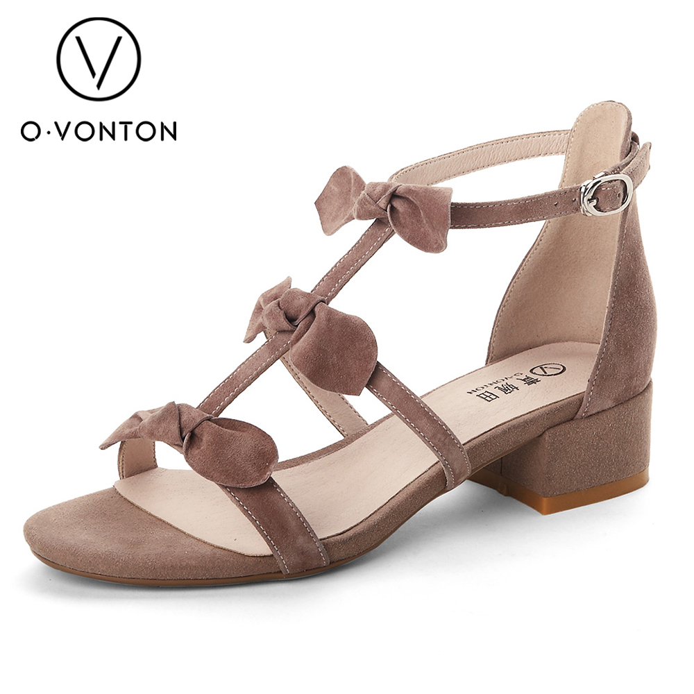 Sweet style 2017 Summer Unique design Female dating shoes super cool flats bowtie decor lovely sandals mujer for women walking