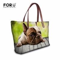 Summer Women Dog Cats Pattern Handbags Casual Ladies 3D Animal Tote Bag For Cute Girl Beach