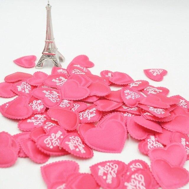 100 Teile Los Rot Liebe Herz Hochzeit Dekoration Blumen