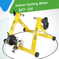 MT 04 Крытый велосипеде упражнения станции профессии велосипед тренер физической подготовки для дальних матч 26 до 28 дюймов 135 кг нагрузки