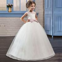 2018 new Children's Dress girls sleeveless butterfly Dresses for holidays and birthdays children fantasy princess ball gowns