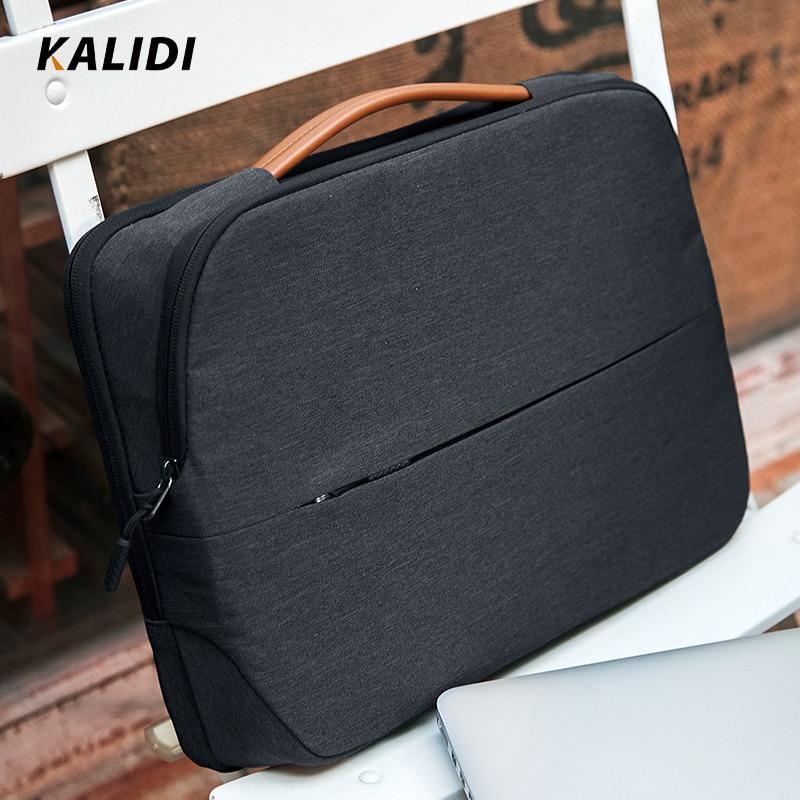 KALIDI Laptop Bag 11 12 13.3 14 15.6 Inch Waterproof Notebook Bag 15 Inch For Macbook Air Pro 11 13 15 Laptop Sleeve Women Men