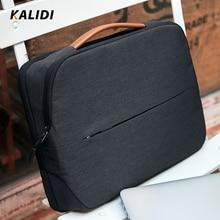 KALIDI сумка для ноутбука 11 12 13,3 14 15,6 дюймов Водонепроницаемый Тетрадь сумка 15 дюймов для Macbook Air Pro 11 13 15 ноутбук рукав Для женщин Для мужчин