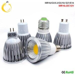 Image 1 - Cob ledスポットライト 9 ワット 12 ワット 15 ワットledライトE27 E14 GU10 GU5.3 220v MR16 12v cob led電球ウォームホワイトコールドホワイトランパーダledランプ