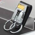 Free Shipping multifunction leather belt keychain keyfob Promotion items 5173