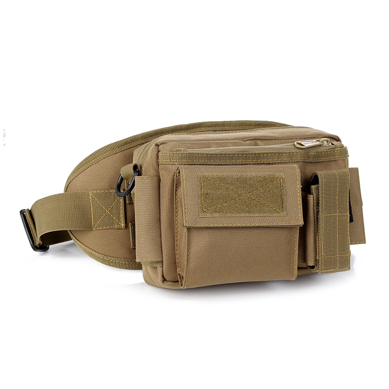 D5column Outdoor Sport Camping Fishing Hunting Travel Fanny Pack Belt Bag Military Tactical Molle Pouch Bag