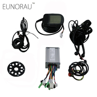36V 20A E BIKE 9 MOSFET Controller and LCD Display Electric Bicycle Brushless modified parts motor speed controller for 36V500W