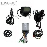 36 В 20A E велосипед 9 MOSFET контроллер и ЖК дисплей Дисплей Электрический велосипед бесщеточный модифицированные части регулятор скорости для