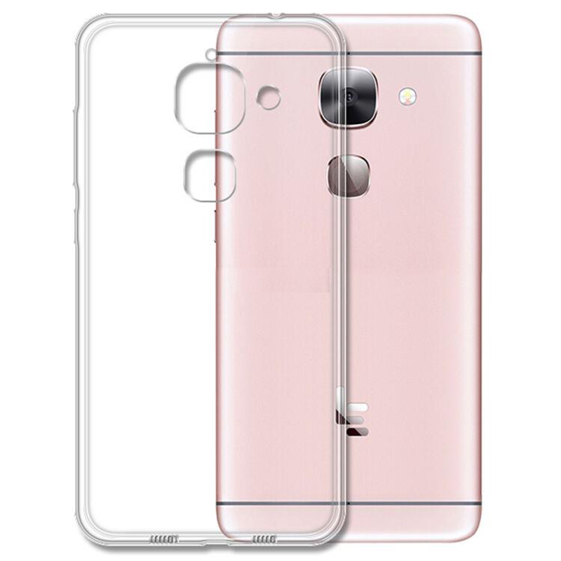 For Leeco Le Max 2 Case Crystal Silicon Back Cover On LE Eco Max2 X820 X823 X829 Transparent TpuOn X 820 823