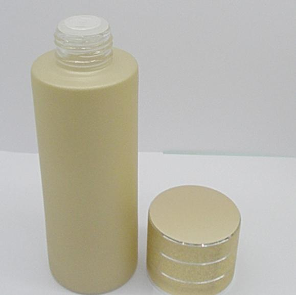100ml golden glass cosmetics packing bottle, suit bottle,screw cover bottle