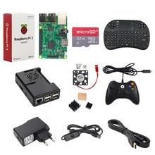 Raspberry Pi 3 Modèle B + Contrôleur de Jeu + 32G SD Carte + 2.5A Alimentation + Clavier + Dissipateur de Chaleur + Ventilateur + HDMI Câble RPI Jeu Kit