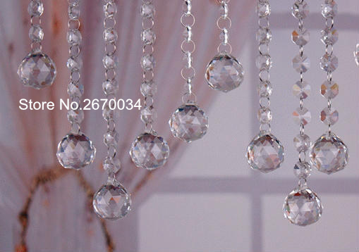 Aliexpress buy chandelier crystal beads chain for wedding chandelier crystal beads chain for wedding garland christmas wedding tree aloadofball Choice Image